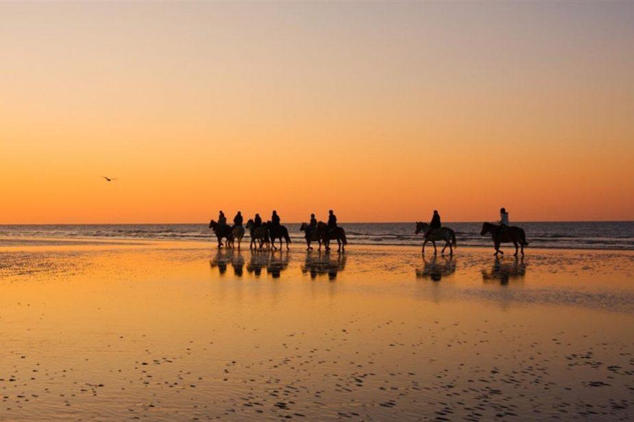 Balade à cheval en baie d'Audierne